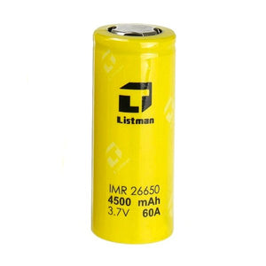 LISTMAN 26650 4500 MAH BATTERY - Bang Bang Vapes & Smoke Shop