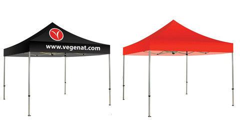 Custom One Color, Two Color and Blank Canopy Pop Up Tents