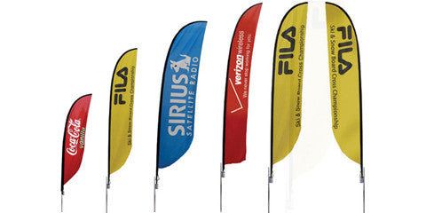 Feather Banner Flag Displays