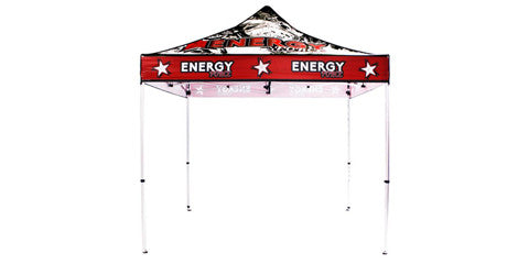 Full Color Logo 10 x 10 Foot Custom Canopy Tents