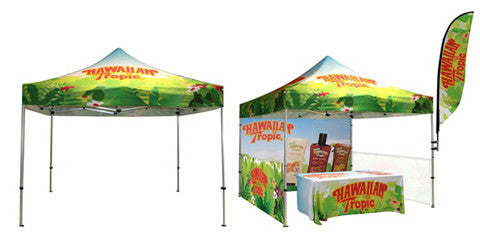 Custom Full Color Canopy Pop Up Tents