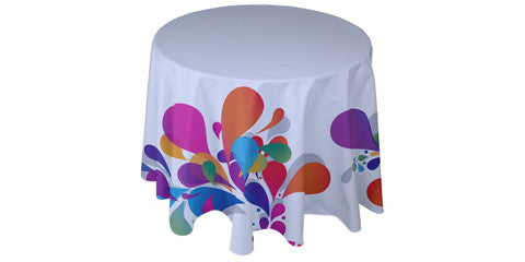 Round Custom Table Covers