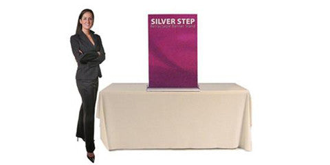 Silver Step Retractable Table-Top Models