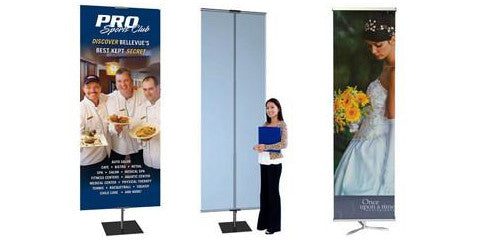 Square and Tripod Base Banner Stands