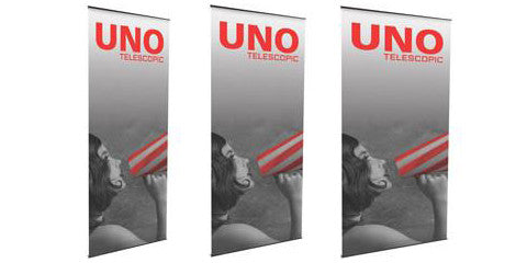 Uno L Banner Stands