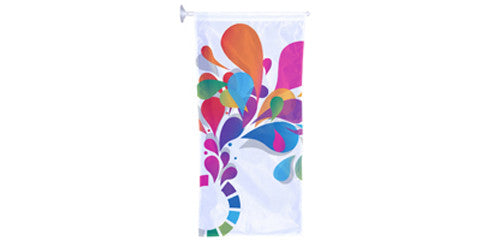 Window Hanging Banner and Flag Kits