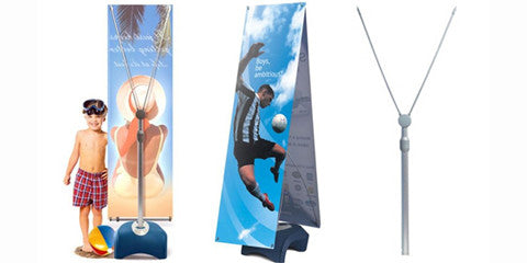 Zephyr Outdoor Single & Double Sided Banner Stands