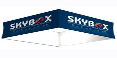 15 Foot Square Hanging Banner Display