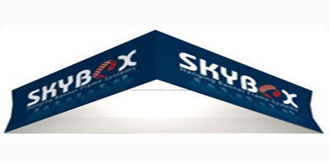 15 Foot Triangle Hanging Banner Trade Show Display
