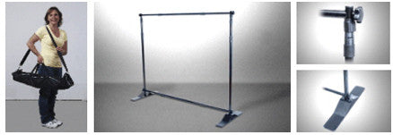 Adjustomatic Banner Display Stand