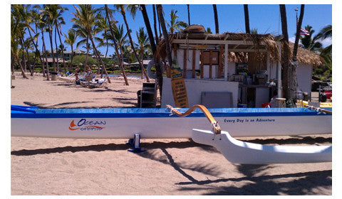 Canoe Vinyl Graphics Waikoloa Hawaii