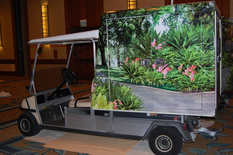 Golf Cart Wrap Four Seasons Hawaii