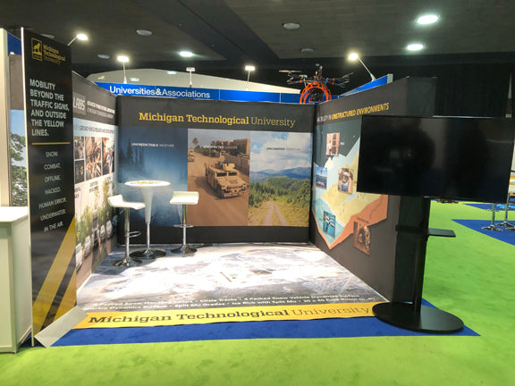 Trade Show Displays Lets Go Banners
