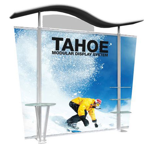 "10 Foot Model ""A"" Classic Tahoe Modular Trade Show Graphic and Frame Combo"