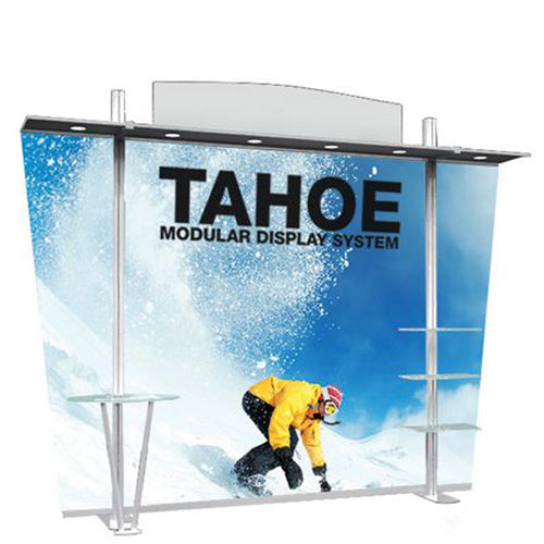 "10 Foot Model ""D"" Classic Tahoe Modular Trade Show Graphic and Frame Combo"