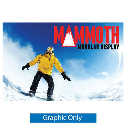 Mammoth 10ft x 8ft Double Sided (Non Back-Lit) Graphic Only