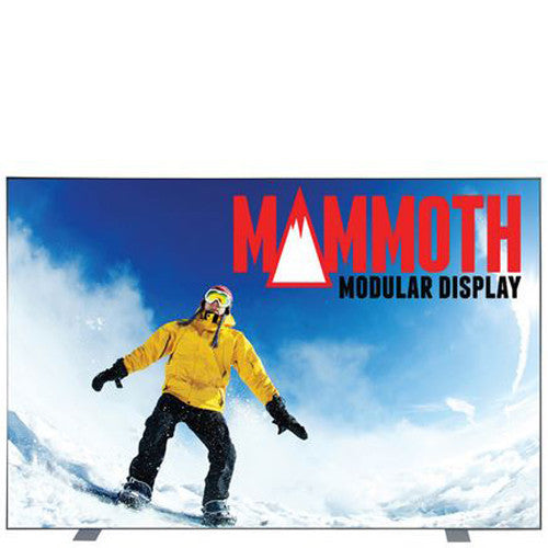 Mammoth 10ft x 8ft Single Sided (Light Box) Graphic and Frame Combo with Case