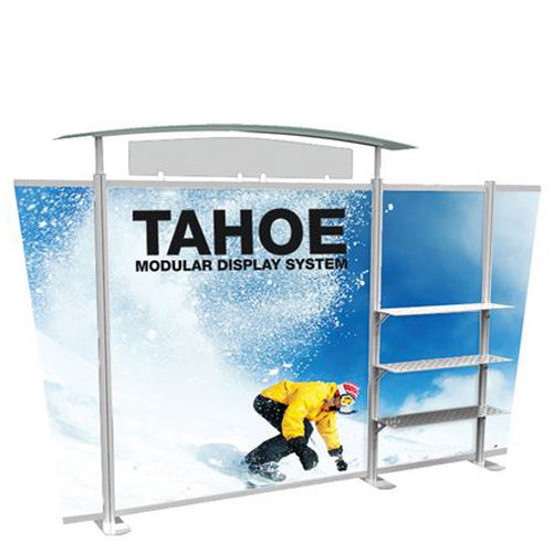 "13 Foot Model ""B"" Classic Tahoe Modular Trade Show Graphic and Frame Combo"