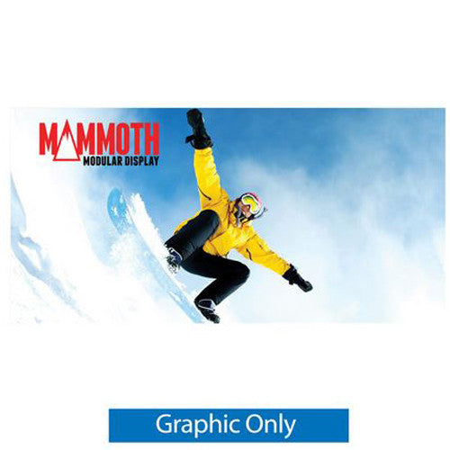 Mammoth 16 Foot Double Sided (Non Back-Lit) Graphic Only