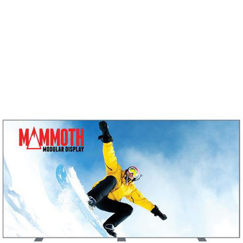 Mammoth 16 Foot Double Sided (Non Back-Lit) Graphic Package with Hard Cases