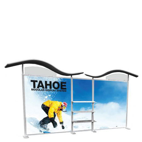 "20 Foot Model ""C"" Classic Tahoe Modular Trade Show Graphic and Frame Combo"