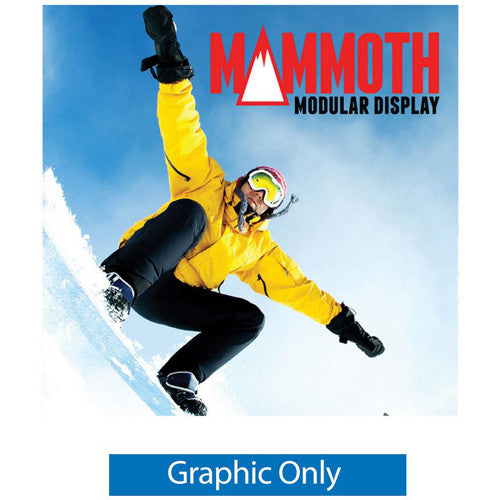Mammoth 8ft x 8ft Double Sided (Light Box) Graphic Only