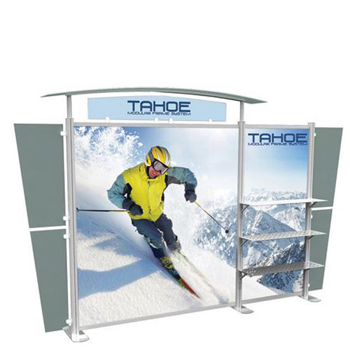 Acrylic Top Header Panel 2 Panel Set with Graphics for Classic Tahoe Display B