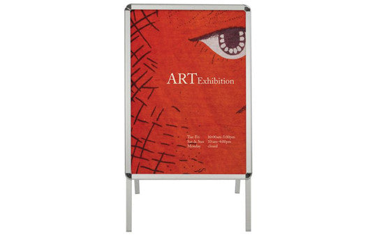 Aluminum Snap Frame Outdoor Sign Front View