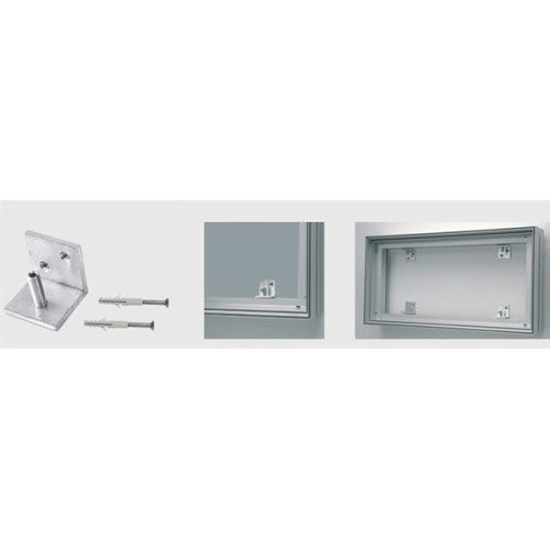Aspen Fabric Frame System Accessories - Wall Mount