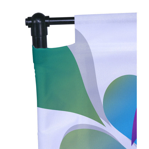 Backpack Walking Flag Single Sided Graphic Package 1.5 feet by 3.0 feet