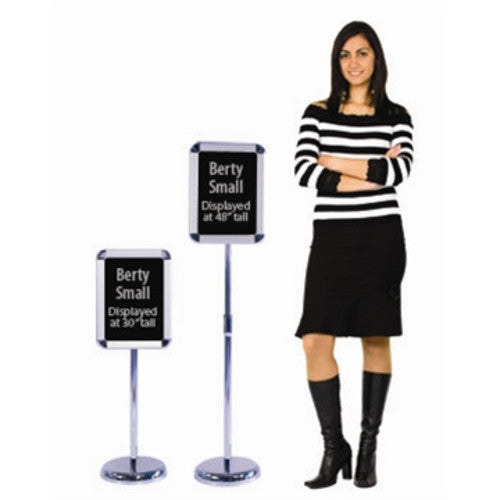 Berty Snap Frame Metal Sign Stand (Large)
