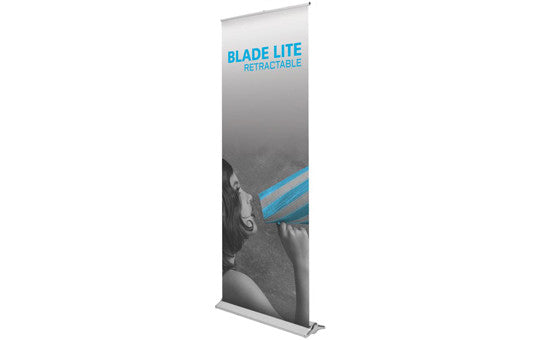 "Blade Lite  36"" W by 83.25"" H Retractable Banner Stand"