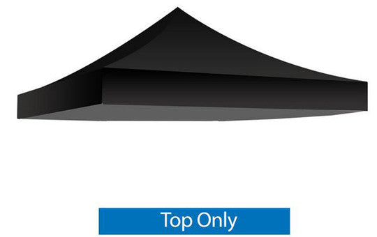 Black Blank 10 x 10 Foot Canopy Tent Top Only