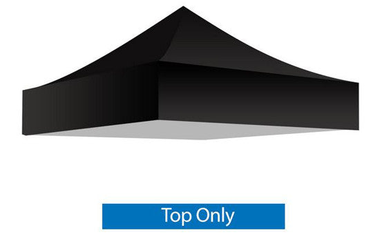 Black Blank 5 x 5 Foot Canopy Tent Top Only