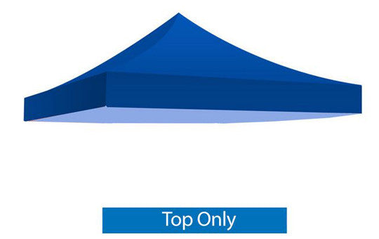 Blue Blank 10 x 10 Foot Canopy Tent Top Only