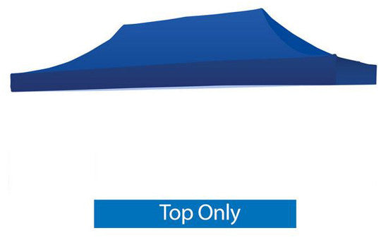 Blank Blue 20 x 10 Foot Canopy Tent Top Only