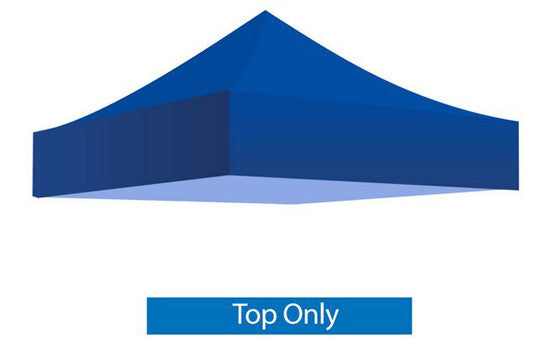 Blue Blank 5 x 5 Foot Canopy Tent Top Only