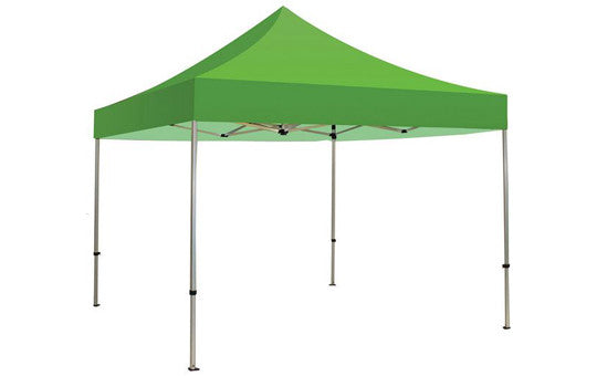 Green Blank 10 Foot Canopy Tent and Frame Combo