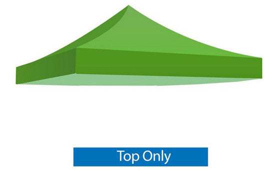 Green Blank 10 x 10 Foot Canopy Tent Top Only