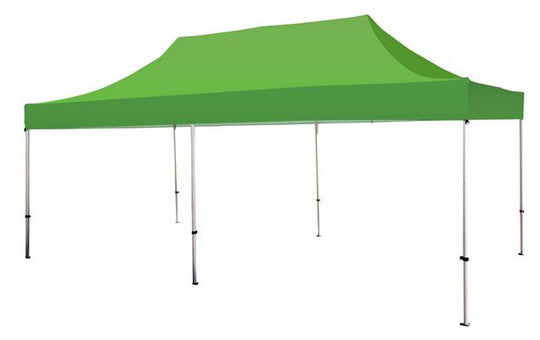Green Blank 20 x 10 Foot Canopy Tent and Frame Combo
