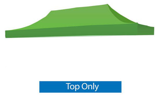 Blank Green 20 x 10 Foot Canopy Tent Top Only