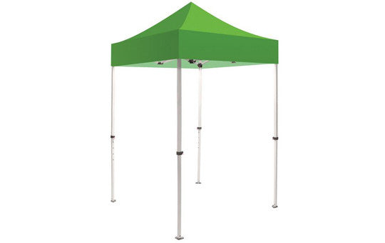 Green Blank 5 x 5 Foot Canopy Tent and Frame Combo