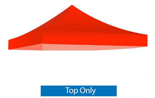 Red Blank 10 x 10 Foot Canopy Tent Top Only