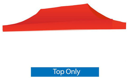 Blank Red 20 x 10 Foot Canopy Tent Top Only