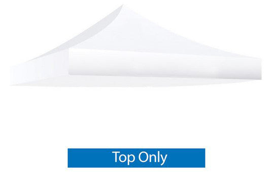 White Blank 10 x 10 Foot Canopy Tent Top Only