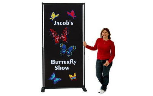 Butterfly Indoor Sign / Banner Stands