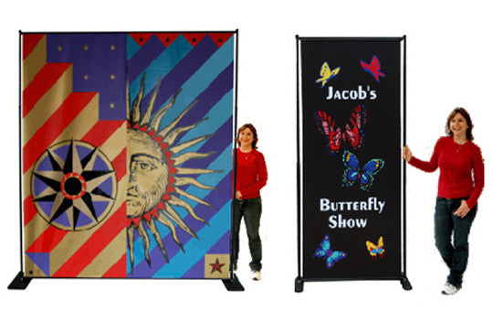 Butterfly Indoor Banner Stand Display
