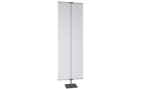 Classic Banner Stand Large 36 inch with black square base