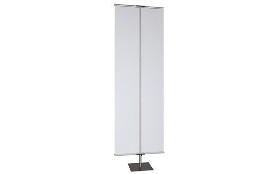 Classic Banner Stand Medium with black square base