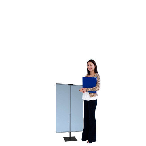 Classic Banner Stand Small - Table Top Indoor Banner Stand